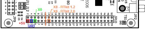 konektor na FITkitu